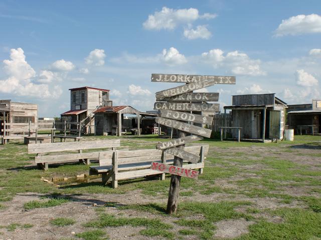 Ghost Town Austin Texas
