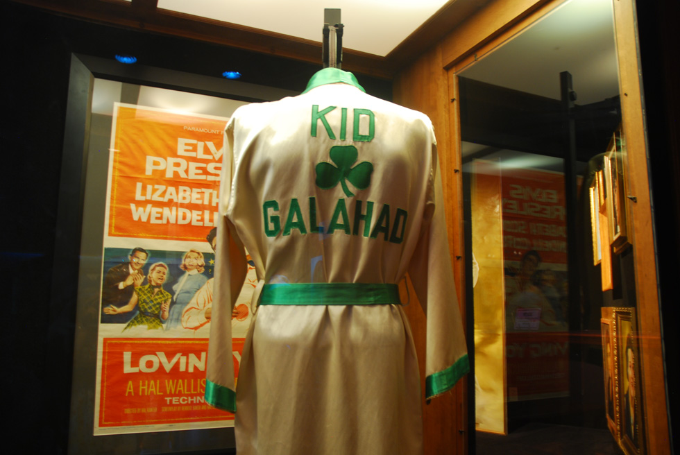 Kid Galahad Robe at Elvis Presley's Graceland
