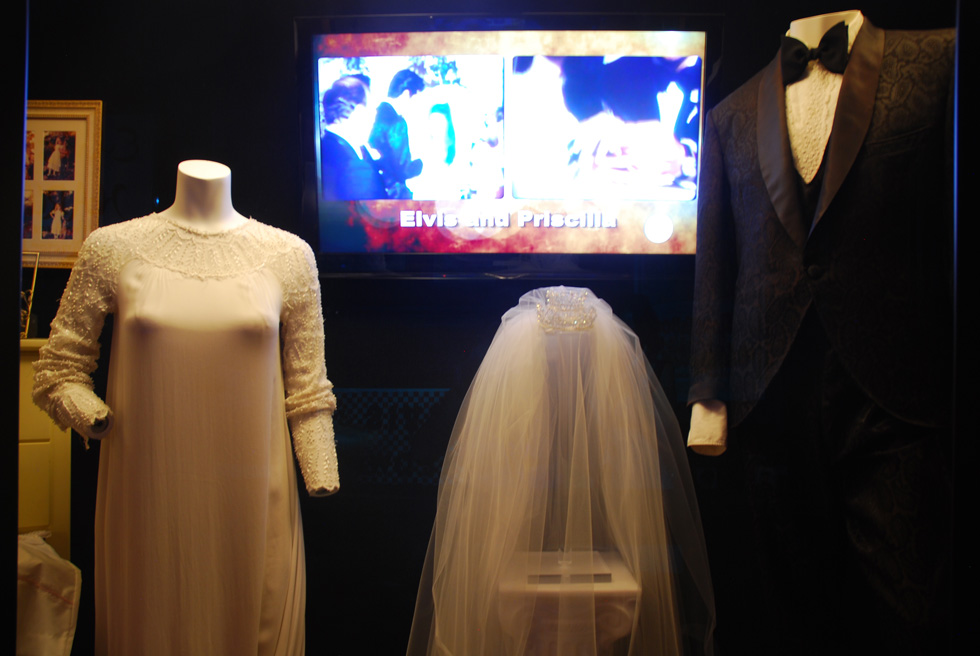 Priscilla Presley's Wedding Dress, Graceland