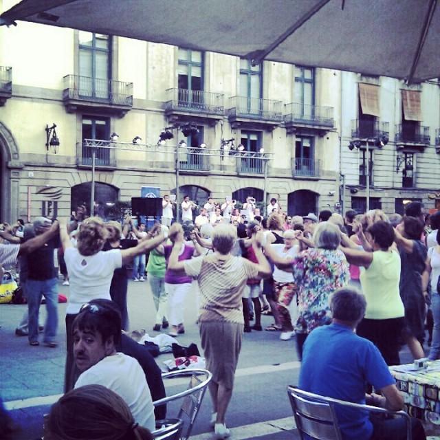 Sardana La Merce Festival Barcelona