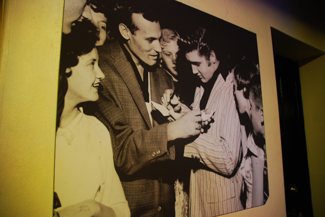 Elvis Photograph Sun Studio