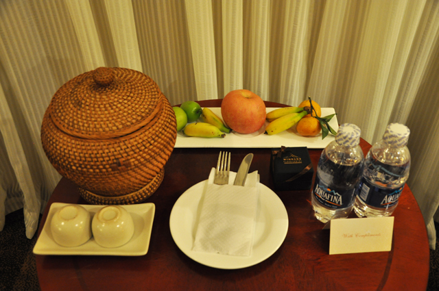 Windsor Plaza Hotel Ho Chi Minh City Vietnam- the extras