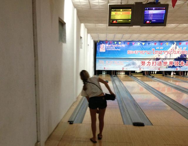 Bowling Alley Luang Prabang