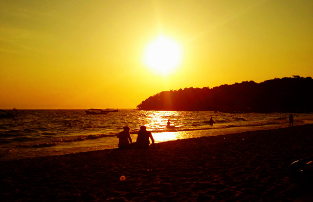 Sunset Serendipity Beach Sihanoukville