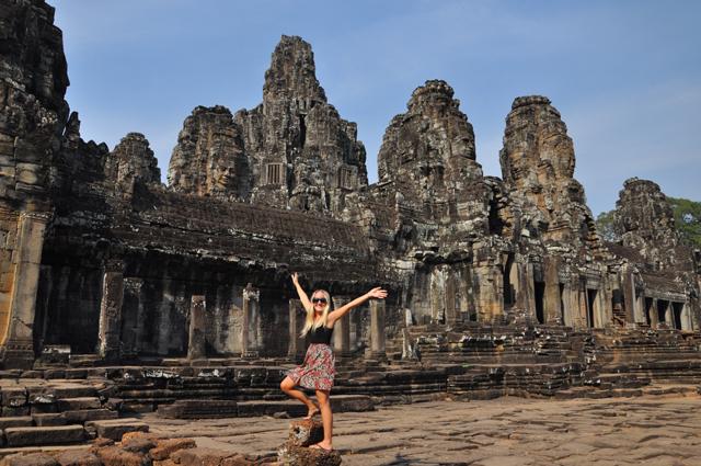 The Bayon- Angkor, Cambodia