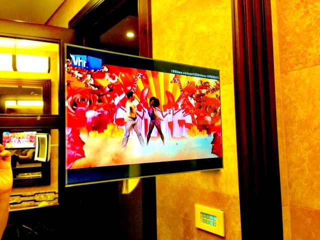 King David Hotel Bathroom TV