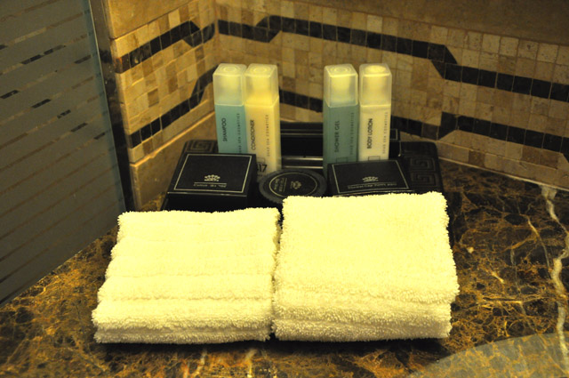 King David Hotel Toiletries. Jerusalem