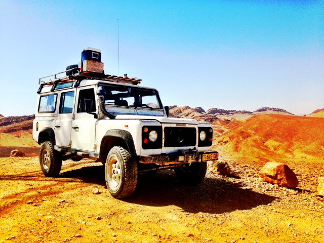 Mitzpe Ramon Jeep Tour