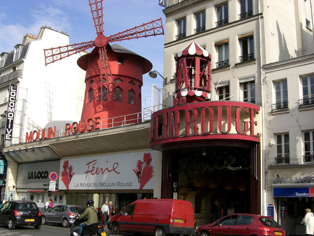 The Moulin Rouge Paris