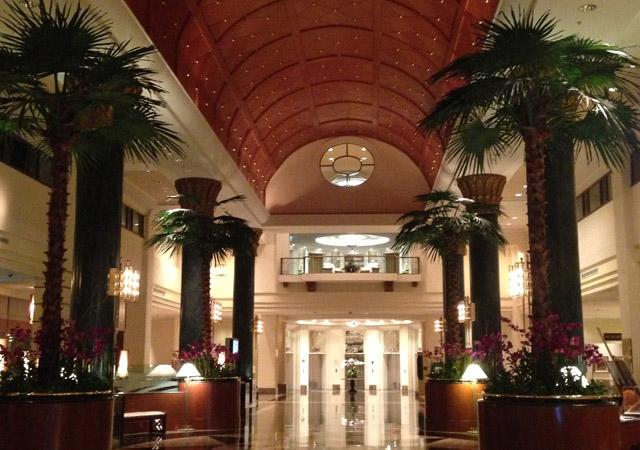 Lobby Sama Sama Hotel