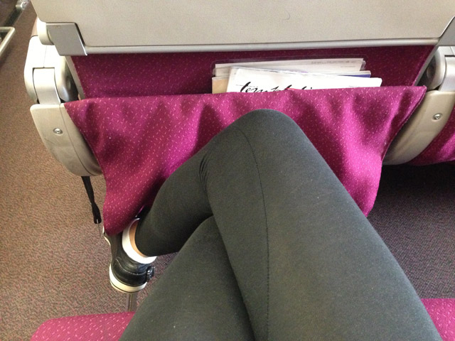 Malaysia Airlines A380 Legroom