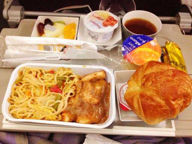 Malaysia Airlines Inflight Breakfast
