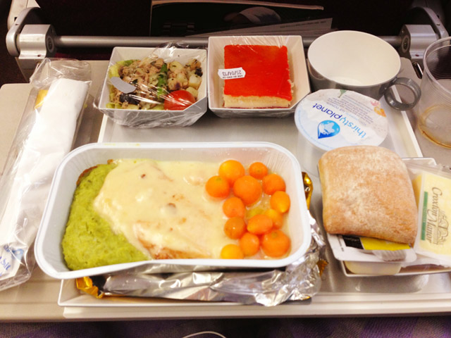 Malaysian Airline Food Reviews