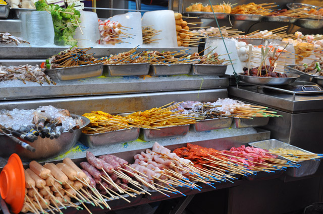 Street Food Petaling Street Kuala Lumpur