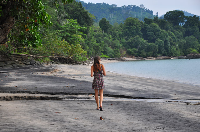 Black Sand Beach Langkawi