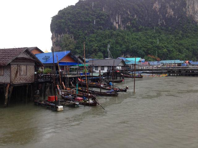 Floating Muslim Village Phang Nha Bay