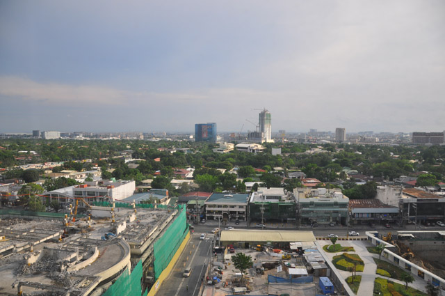 View of Manila from Holiday Inn & Suites Makati