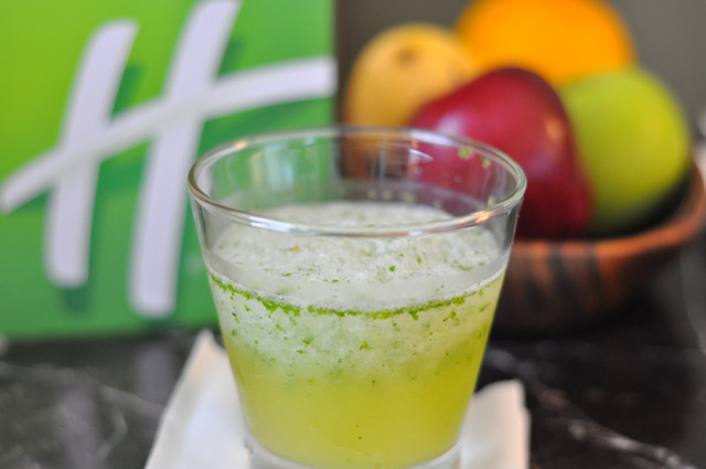 Holiday Inn and Suites Makati Manila Welcome Drink