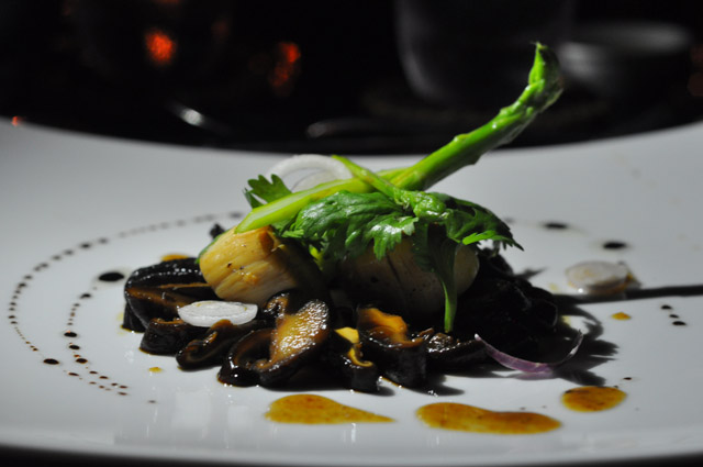 Scallops with Mushroom: Private Dinner at Tanjong Jara Resort