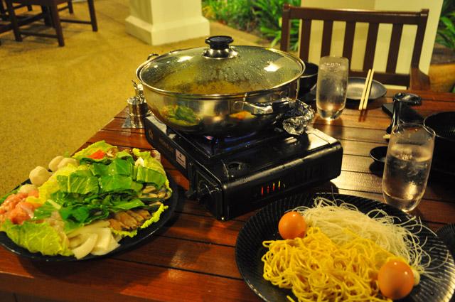 Malaysia Steamboat Dinner at Tanjong Jara Resort