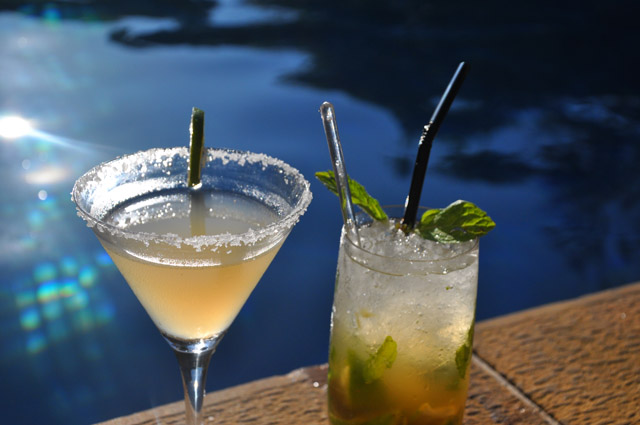 Tanjong Jara Resort Cocktails by the pool