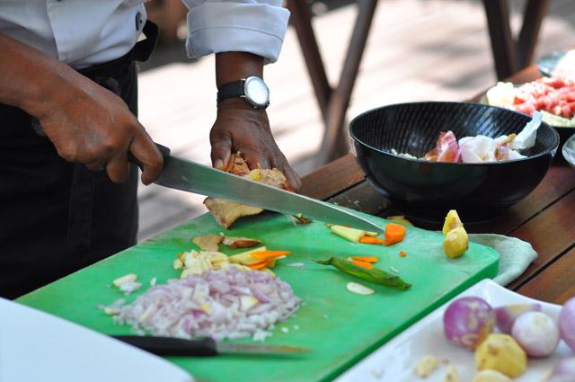 Tanjong Jara Resort Malaysian Cooking Class