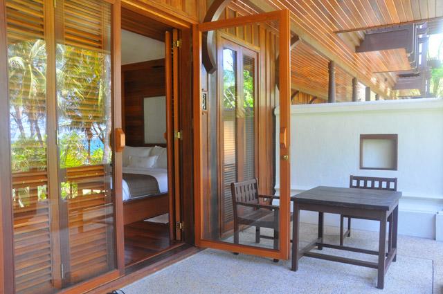 Tanjong Jara Resort Room Patio