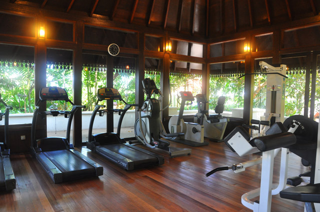 The Gym at Tanjong Jara Resort Malaysia
