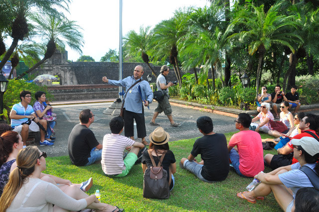 Carlos Celdran Intramuros Walking Tour