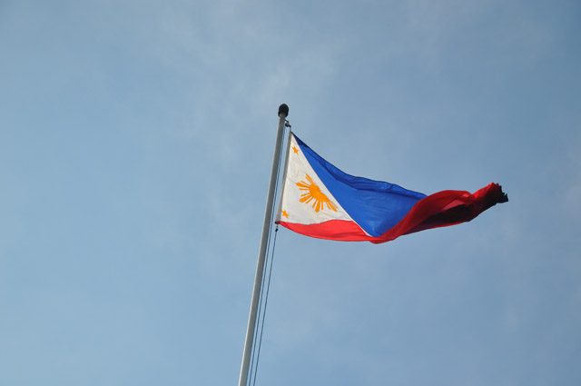 Philippines Flag at Fort Santiago