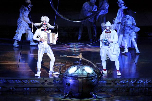 Zarkana Cirque Du Soleil Las Vegas Clowns