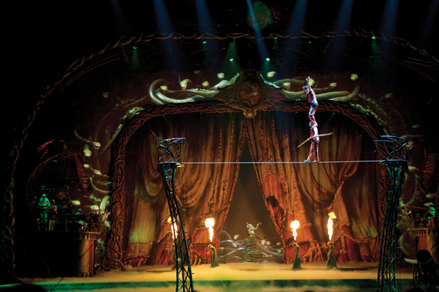 Zarkana HighWire Cirque du Soleil Las Vegas