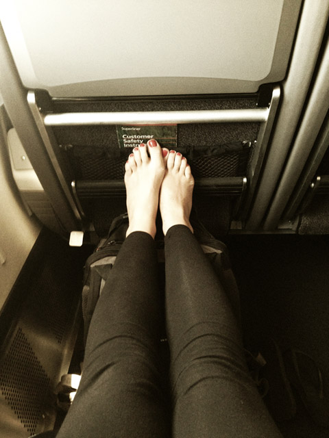 Amtrak Coast Starlight Legroom