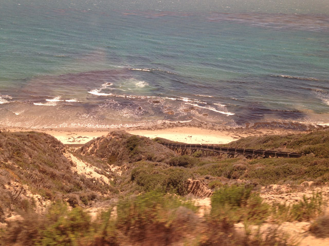 Coast Starlight Views and Beaches