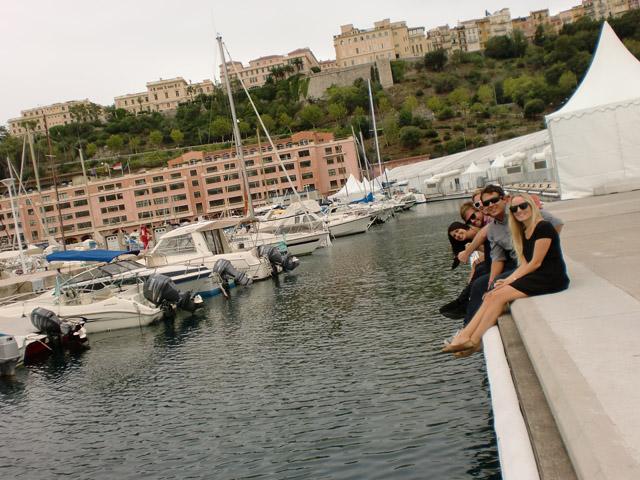 Kickin it in Monaco
