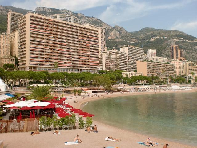 Plage du larvotto Monaco