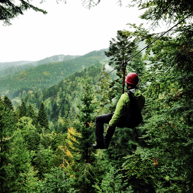 Black Forest Ziplining Germany