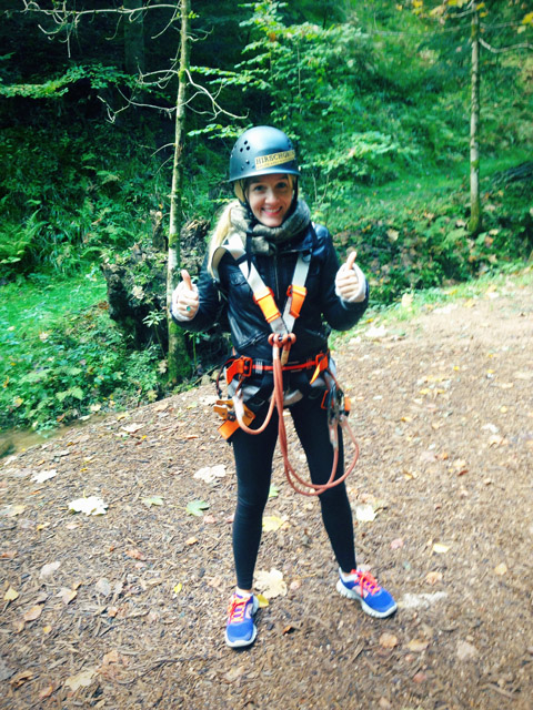 Pommie Travels Black Forest Ziplining