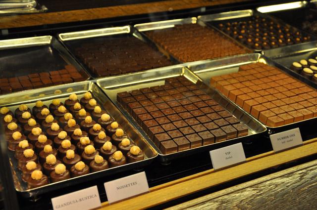 Sprungli chocolates Zurich