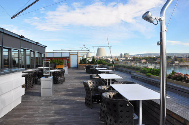 The Thief Hotel Oslo Rooftop