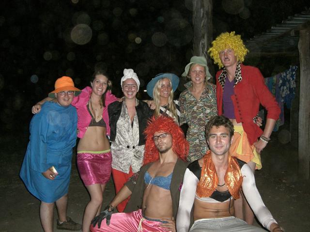 Oz Experience Crew in fancy dress