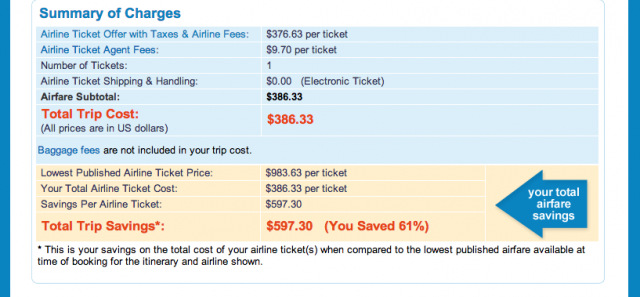 Priceline Flight Booking