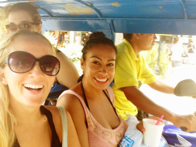 Trishaw ride in Boracay