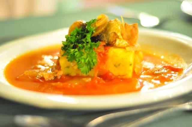 Barbados National Dish Cou Cou