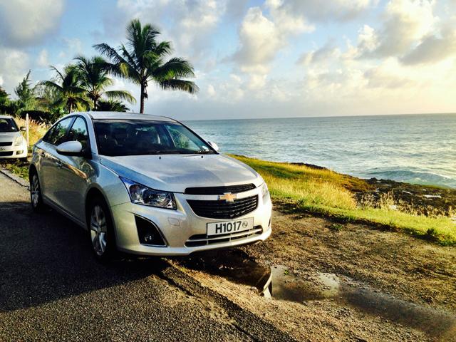 Driving Barbados