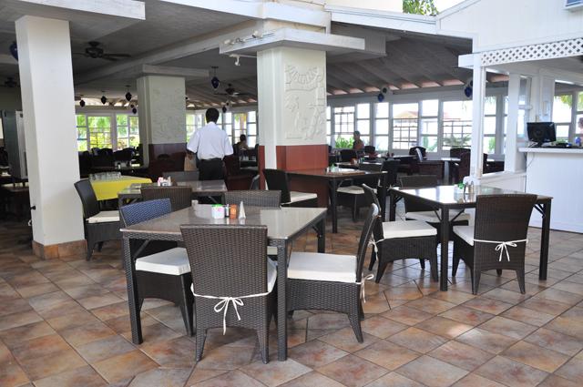 Amaryllis Beach Resort Dining Area