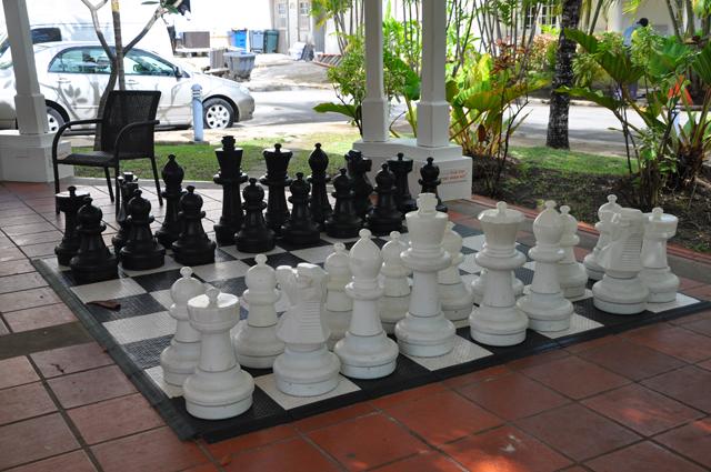 Amaryllis Beach Resort Giant Chess