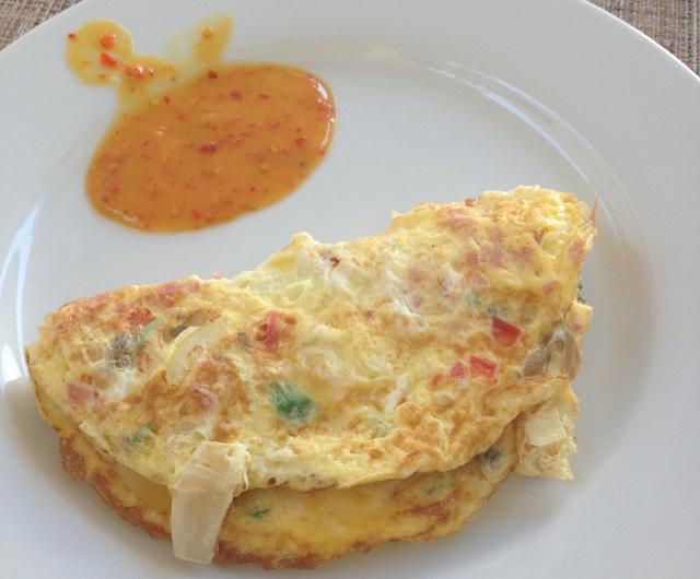 Amaryllis Beach Resort Omelette
