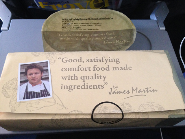 Thomas cook long haul flight review manchester to barbados thomas cook inflight meals by james martin forumfinder Gallery