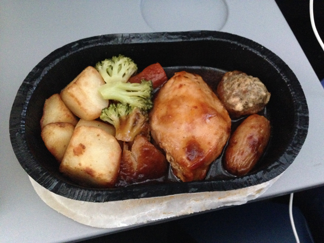 Thomas Cook Meals on Flights